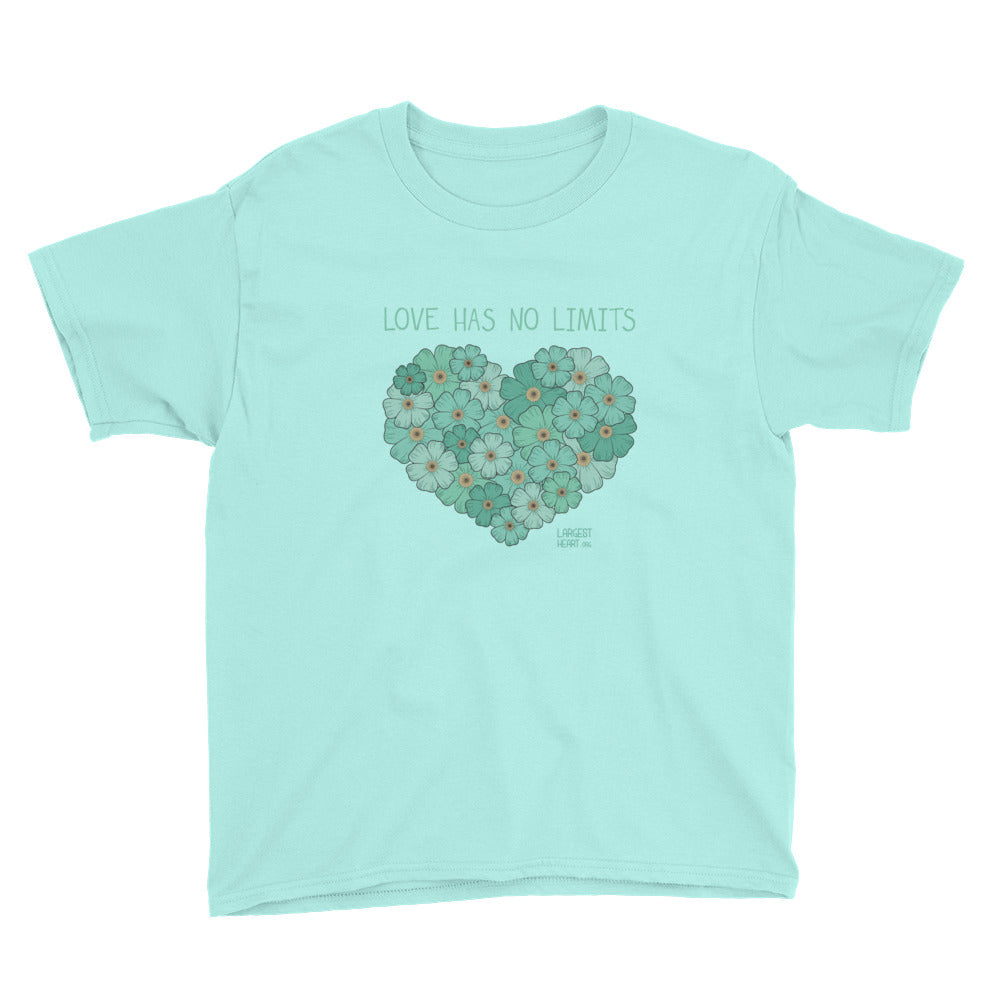 Youth Short Sleeve T-Shirt - Flower