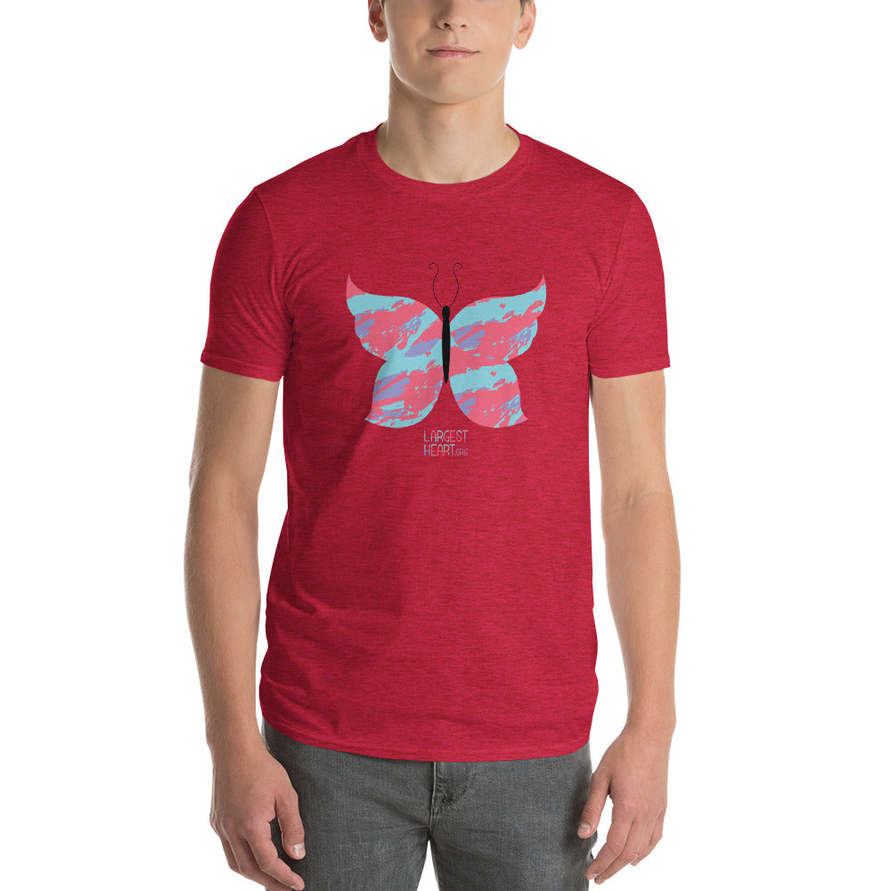Men's Short Sleeve T-Shirt - Butterfly