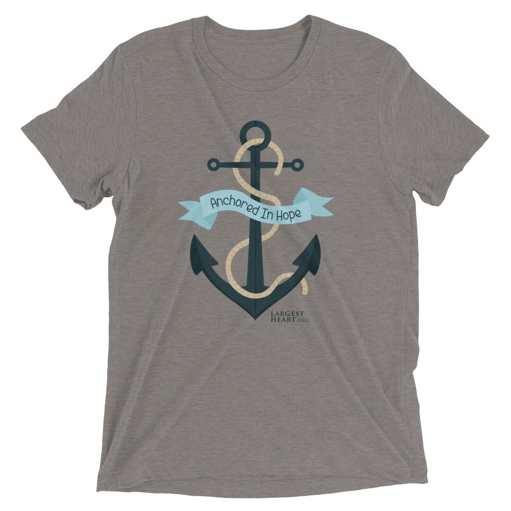Triblend Short Sleeve T-shirt - Anchored