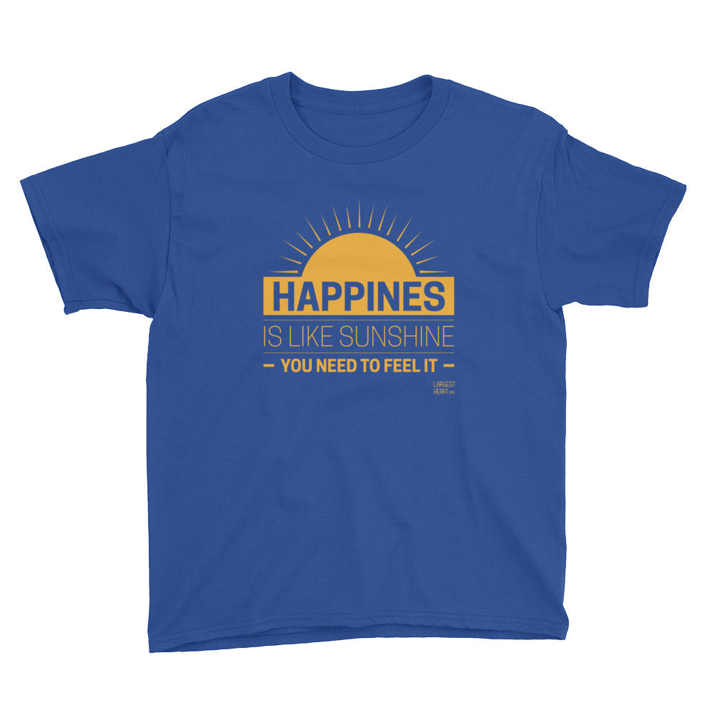 Youth Short Sleeve T-Shirt - Happiness
