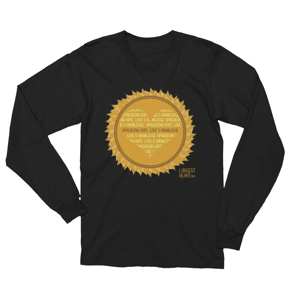 Long Sleeve T-Shirt - Sunflower