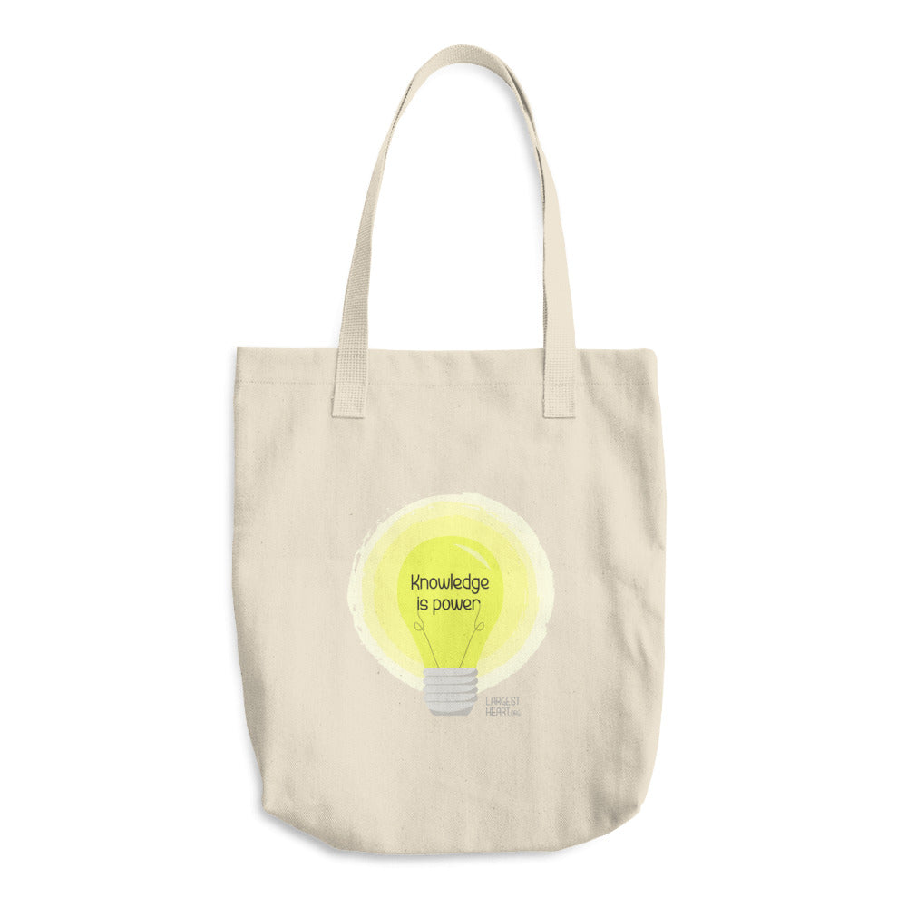 The Classic Tote - Knowledge is Power