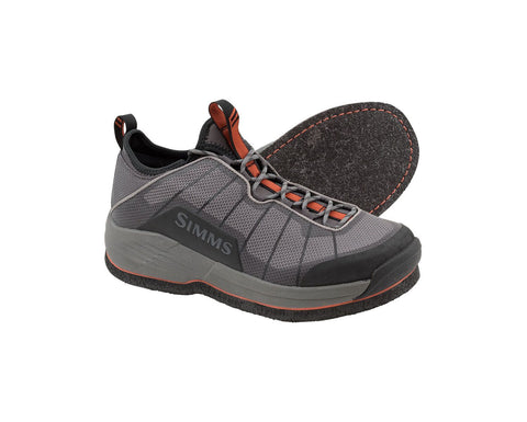 Simms Men's Felt Soled Flyweight Wet Wading Shoe