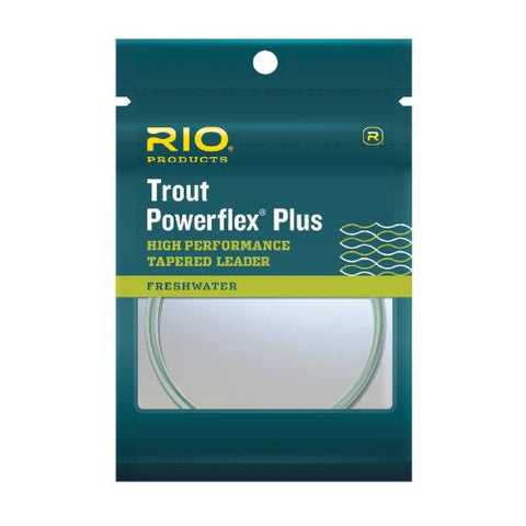 RIO Powerflex Plus Tapered Leaders // 2 Pack