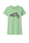 509 Trout T-Shirt // Women's Mint