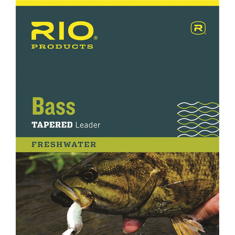 Rio bass leader fly fishing