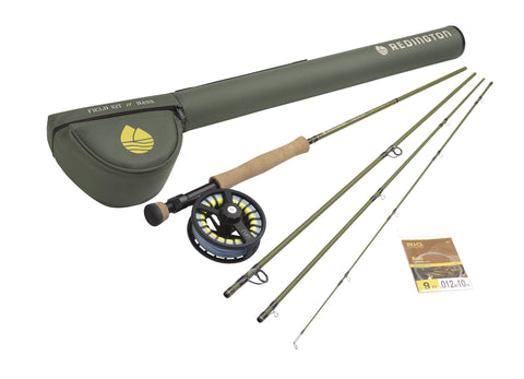 complete fly rod setup for bass