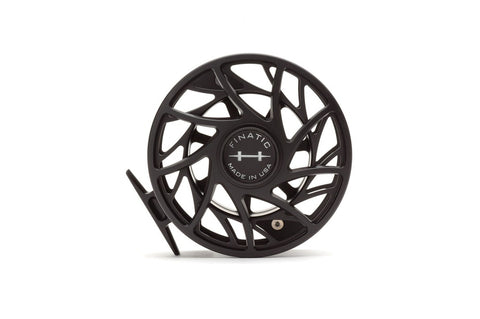 Hatch 12 Plus Finatic Gen 2 Black/Silver Fly Reel