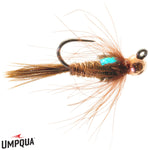 Jigged CDC Pheasant Tail // Tungsten Jighead Nymph by Umpqua