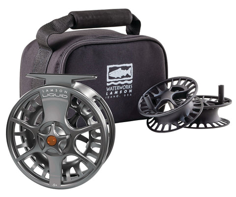 Waterworks-Lamson Liquid 3-Pack Fly Fishing Reel & Spools