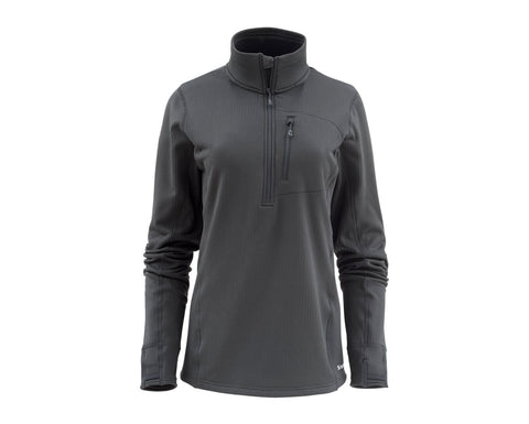 Simms Women's Fleece Midlayer Half Zip