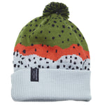 rep your water knit hat rainbow trout