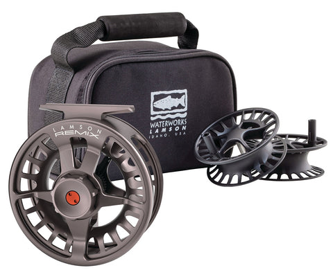 Waterworks-Lamson Remix (& Remix HD) 3-Pack Fly Fishing Reel and Spools