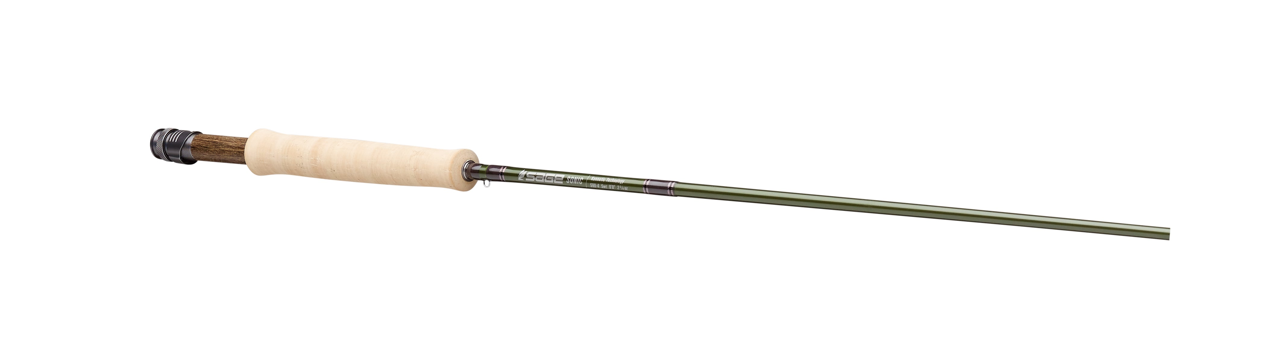 Sage Sonic 8 FT 6 IN 4 WT Fly Rod FREE 2 DAY SHIPPING FREE FLY LINE