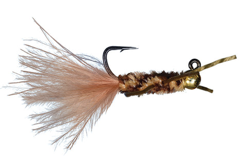 TJ Hooker Stonefly Nymph // Tungsten Bead Jighead by Solitude