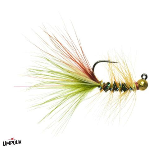 Tungsten Junior Mint // Jighead Bugger by Umpqua