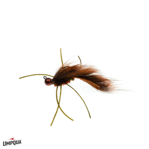 Zirdle Bug Jig // Tungsten Bead Streamer Bug by Umpqua