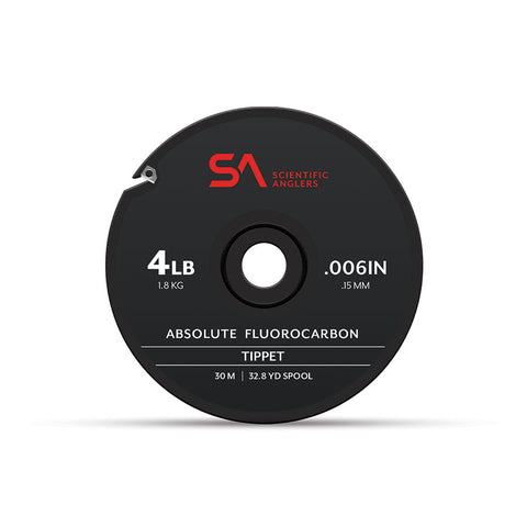 Scientific Anglers Absolute Fluorocarbon // Stiff Tippet 4 - 20#