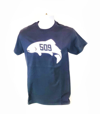 """509 Trout"" Logo T-Shirt // CLEARANCE SUPER SALE!"