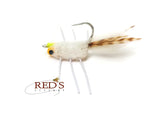 Rainy's Casa Blanca Raghead Crab // Custom Yellow Eyes