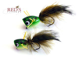 bass popper for fly fishing