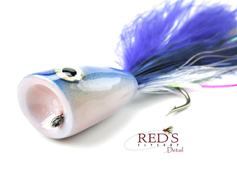 Off-Shore Tandem Hook Popper by Rainy's // Bluewater Popper Fly