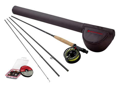 Redington Topo Fly Rod // All Inclusive 5 Weight Trout Fishing Kit