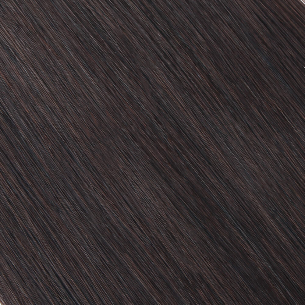 Stunning Star Micro Loop Hair Extensions Dark Brown 2#