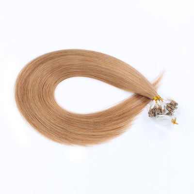 Stunning Star Micro Loop Hair Extensions Strawberry Blonde 27#