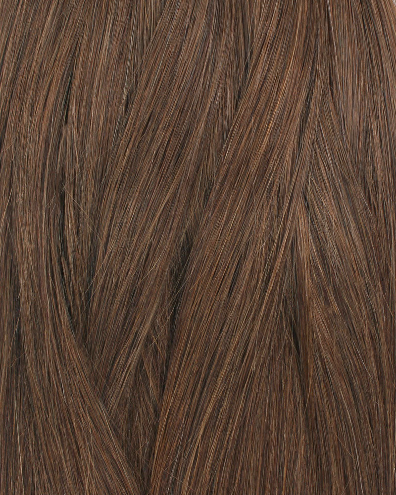 Deluxe Star 160g Clip In Hair Extensions Chocolate Brown 4#