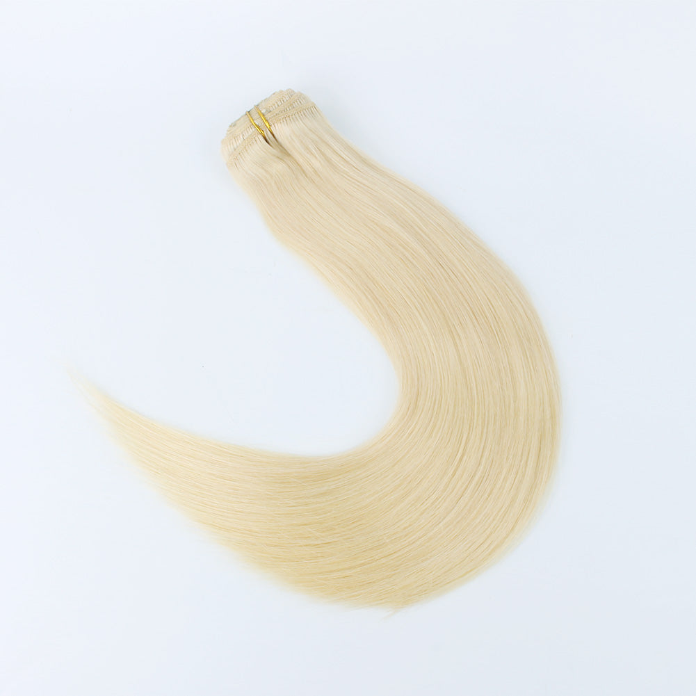 Flowery Star 220g Clip In Hair Extensions Beach Blonde 613#
