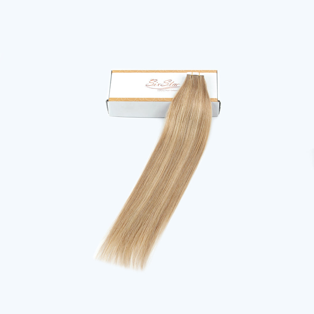 Charming Star Tape In Hair Extensions Piano Color 8N/10N