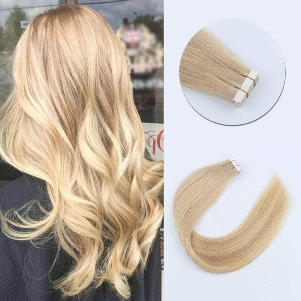 Charming Star Tape In Hair Extensions Piano Color 18/22#
