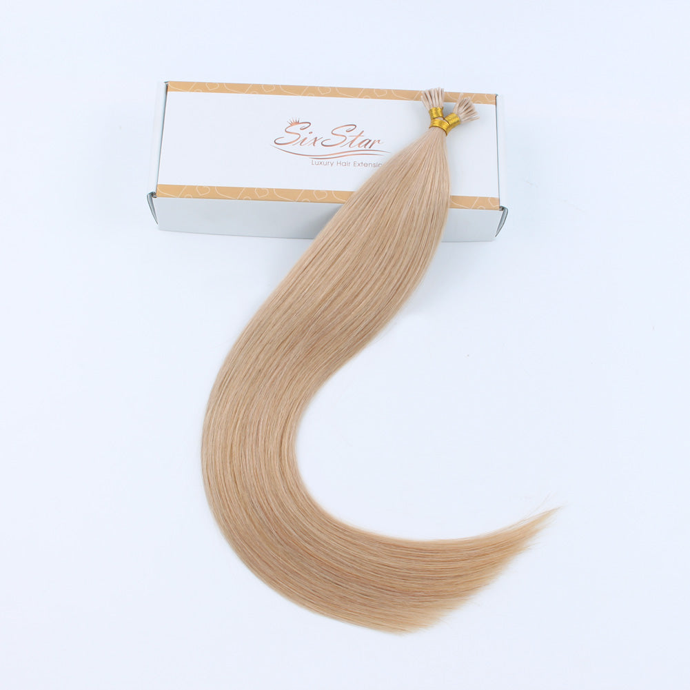 Lovely Star I Tip Hair Extensions Dirty Blonde 18#