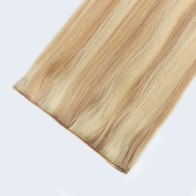 Clip In Hair Extensions Remy Human Hair Highlight P12-613#