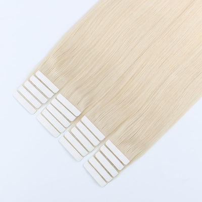 Elegant Star Tape In Hair Extensions Ash Blonde 60#