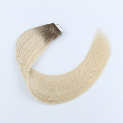 Adorable Star Tape In Hair Extensions Rooted Color 6/60#