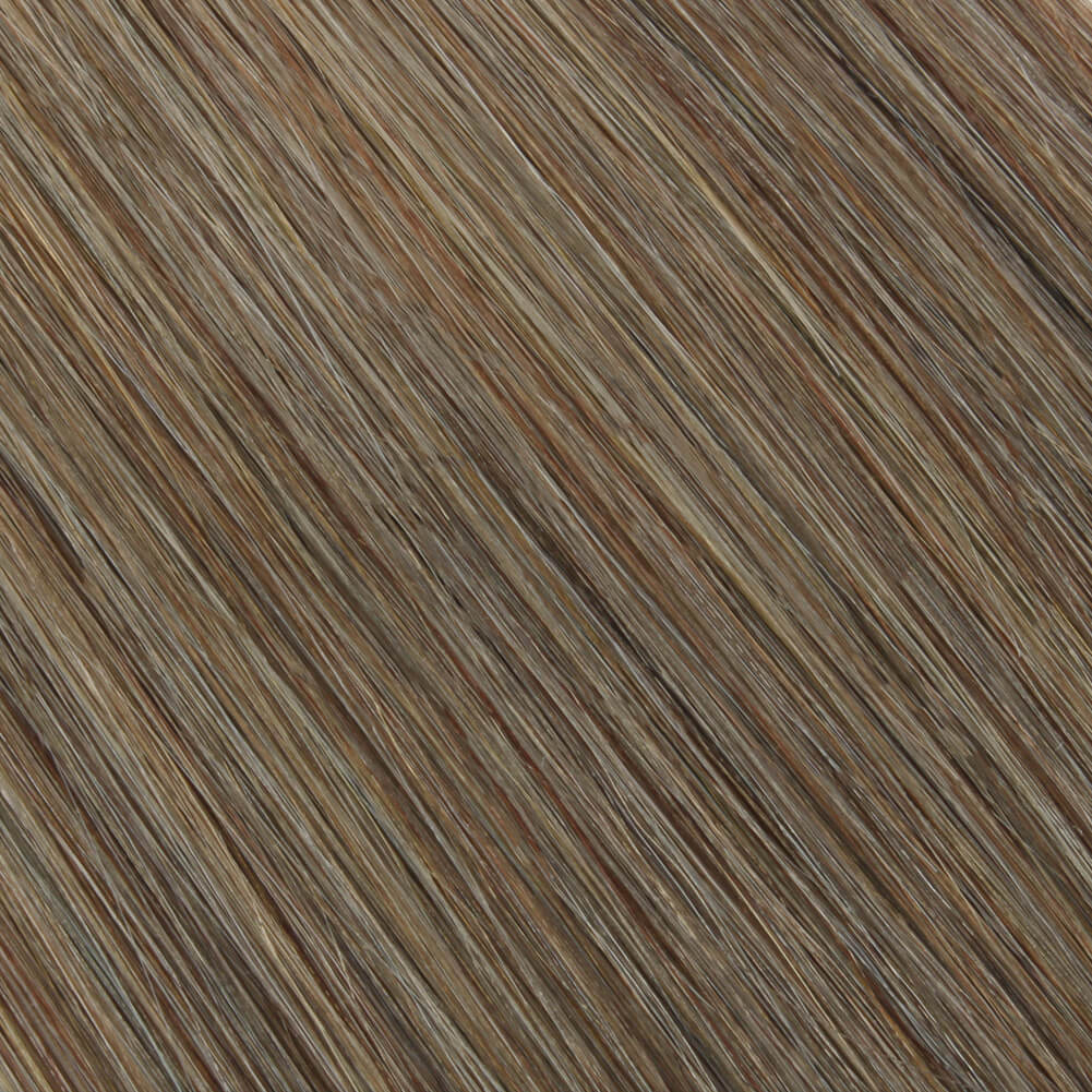 Elegant Star Tape In Hair Extensions Ash Brown 8#
