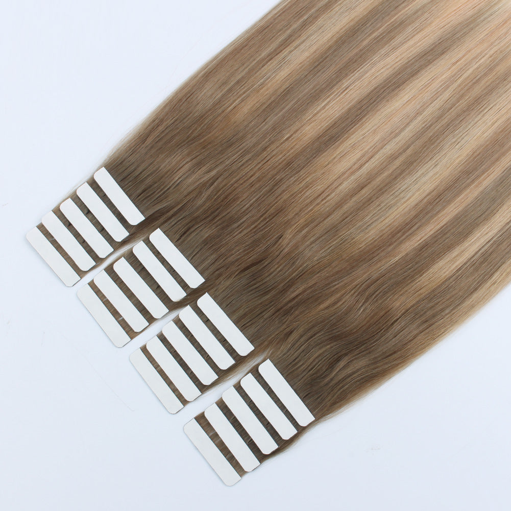 Gorgeous Star Tape In Hair Extensions Balayage 8-18/60#