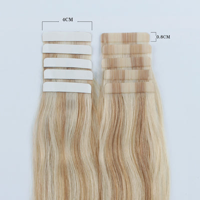 Charming Star Tape In Hair Extensions Piano Color 12/60#