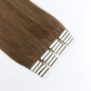 Elegant Star Tape In Hair Extensions Chestnut Brown 6#