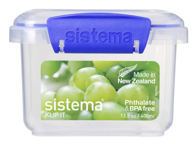 SISTEMA - Contenedor rectangular 400 ml