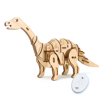 PUZZLE 3D ARMABLE APATOSAURIO A CONTROL REMOTO