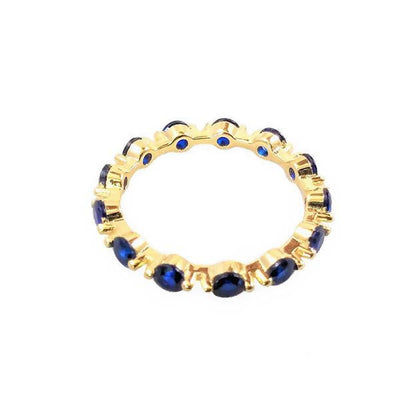 Anillo bubble blue