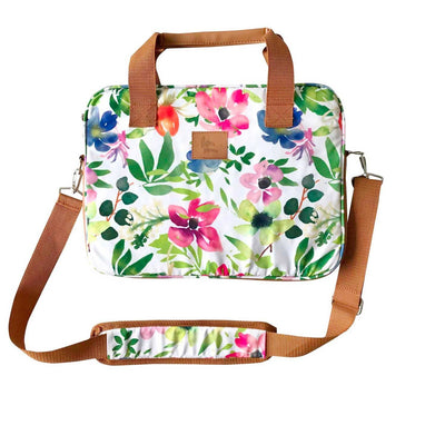 Bolso Notebook Flores