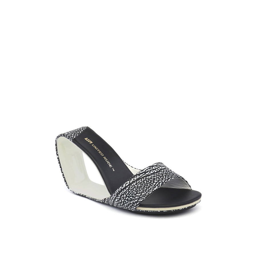 Mobius Hi Black and White Mix - Chala Mujer Blanco y Negro