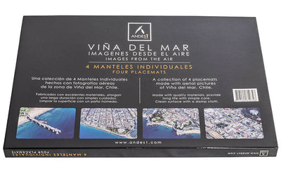 Set de 4 Individuales Viña del Mar