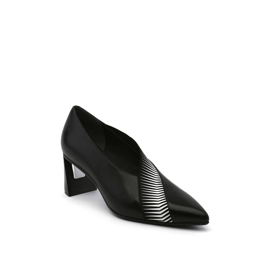 Zink Peek Pump Mid Black - Zapato Mujer color Negro