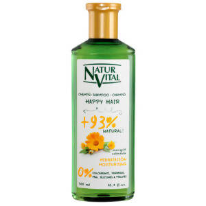 Champu Happy Hair Hidratción Calendula 300ml – NaturVital