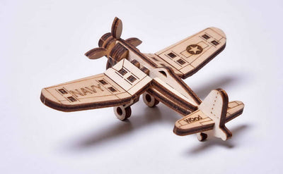 PUZZLE 3D CORSAIR PLANE ARMABLE